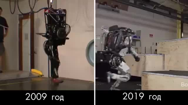 Watch 10 years of progress in Boston Dynamics robotics GIF by tothetenthpower (@tothetenthpower) on Gfycat. Discover more related GIFs on Gfycat