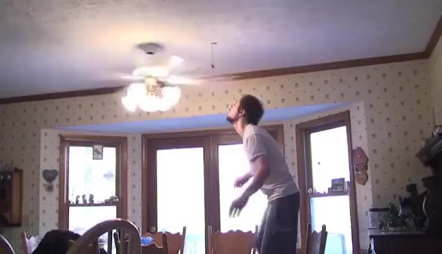 Watch Ceiling Fan Trick Knockdown GIF on Gfycat. Discover more related GIFs on Gfycat