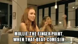 Watch and share Chasing The Saturdays The Finger Pointing Gif GIFs on Gfycat