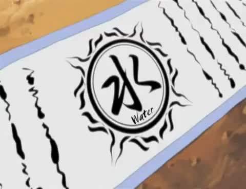 Image result for naruto water scroll