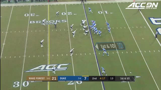 Watch Wake Forest's Nasir Greer Interception Return Touchdown vs. Duke GIF on Gfycat. Discover more ACC, ACC Digital Network, ACCDN, ACCDigitalNetwork, Atlantic Coast Conference, College Sports, Division I, NCAA, athletics, competition, football GIFs on Gfycat