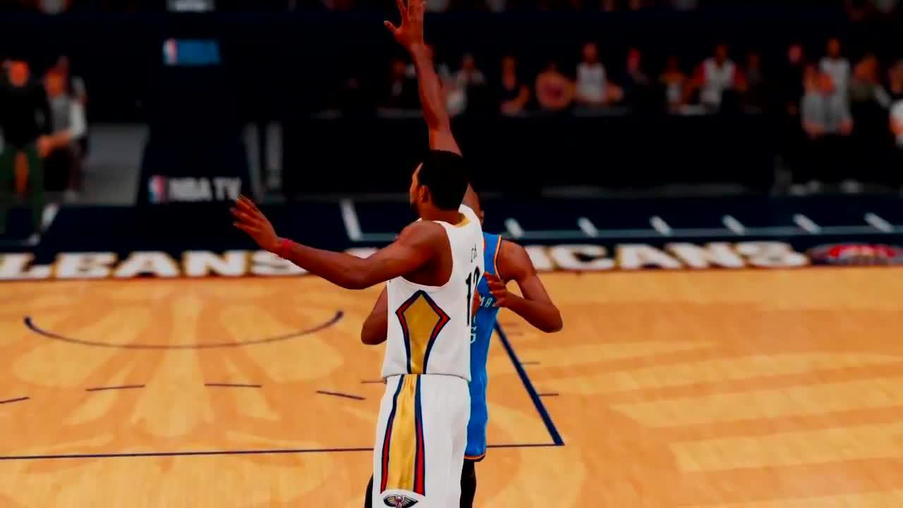 nba2k, When 2k doesn't want you to get the block (reddit) GIFs