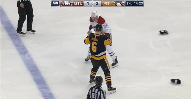 Watch and share Michael McCarron Vs. Jamie Oleksiak. GIFs by scottmatlaeotp on Gfycat