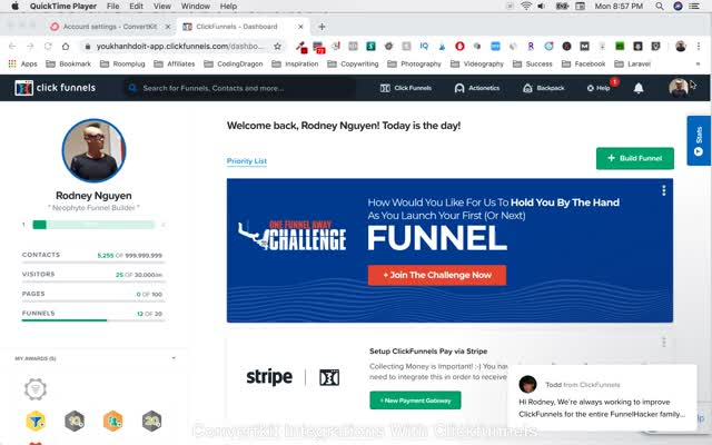 Watch and share Convert Integrations With Clickfunnels GIFs on Gfycat