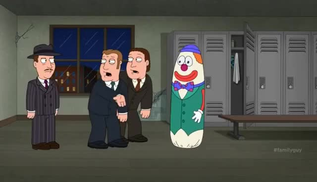 Watch and share Family Guy Boppo The Clown GIFs on Gfycat