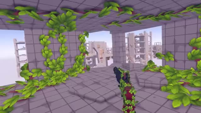Watch and share I Made A Gun That Generate Plants And Bridges Https://twitter.com/TommasoRomano_ GIFs by Tommaso Romanò on Gfycat