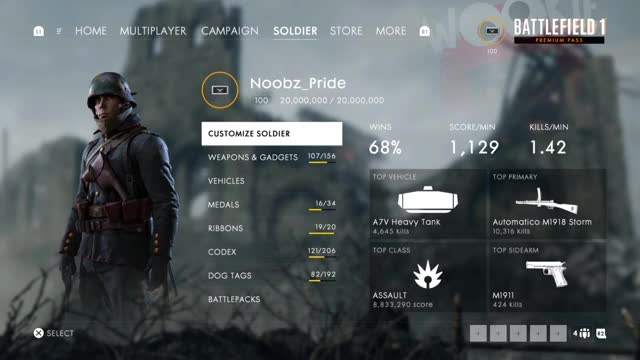 """Watch and share Obtained The """"A Beginning"""" Dog Tag On PS4 GIFs by noobzpride on Gfycat"""
