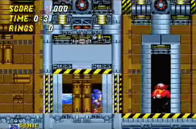 Watch and share Eggman Is Fast GIFs by doctormandude on Gfycat