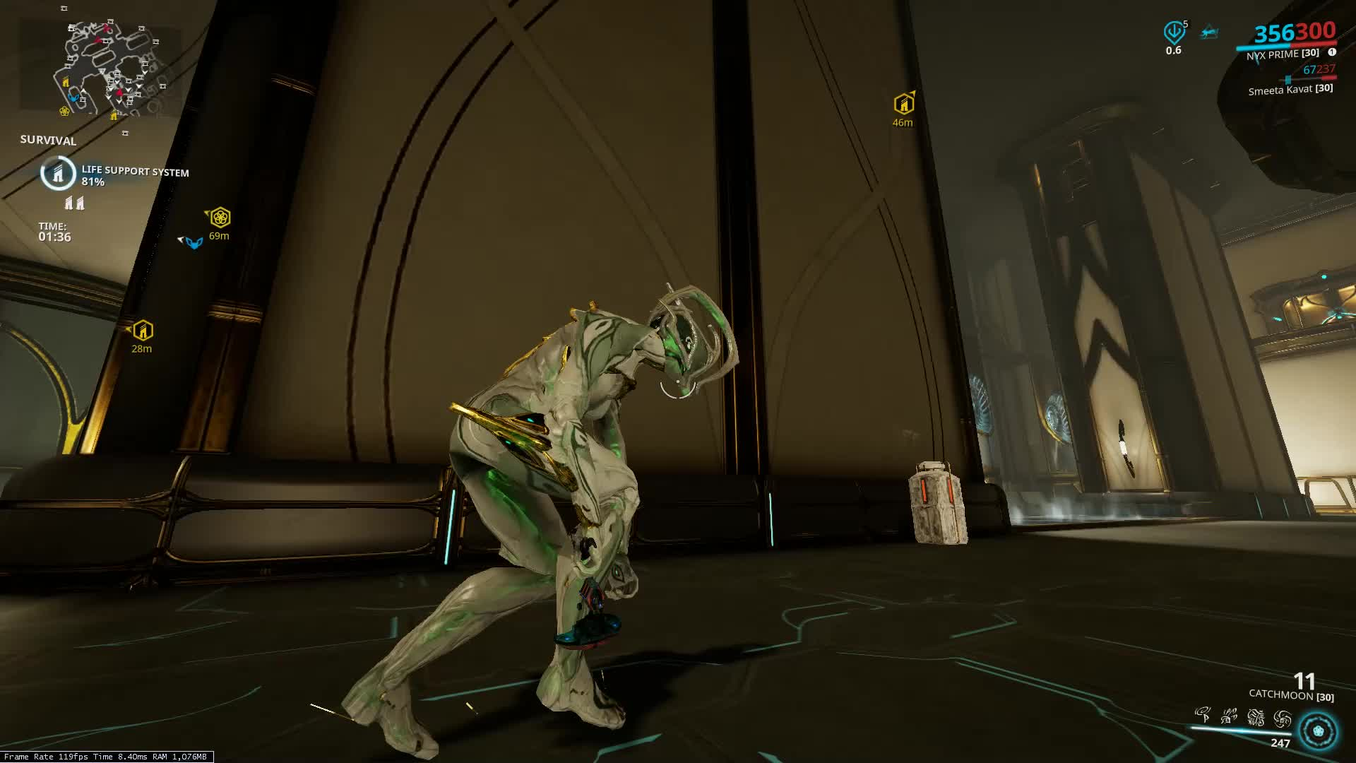 catchmoon, nyx, pronton pulse, warframe, this is how the game was meant to be played GIFs