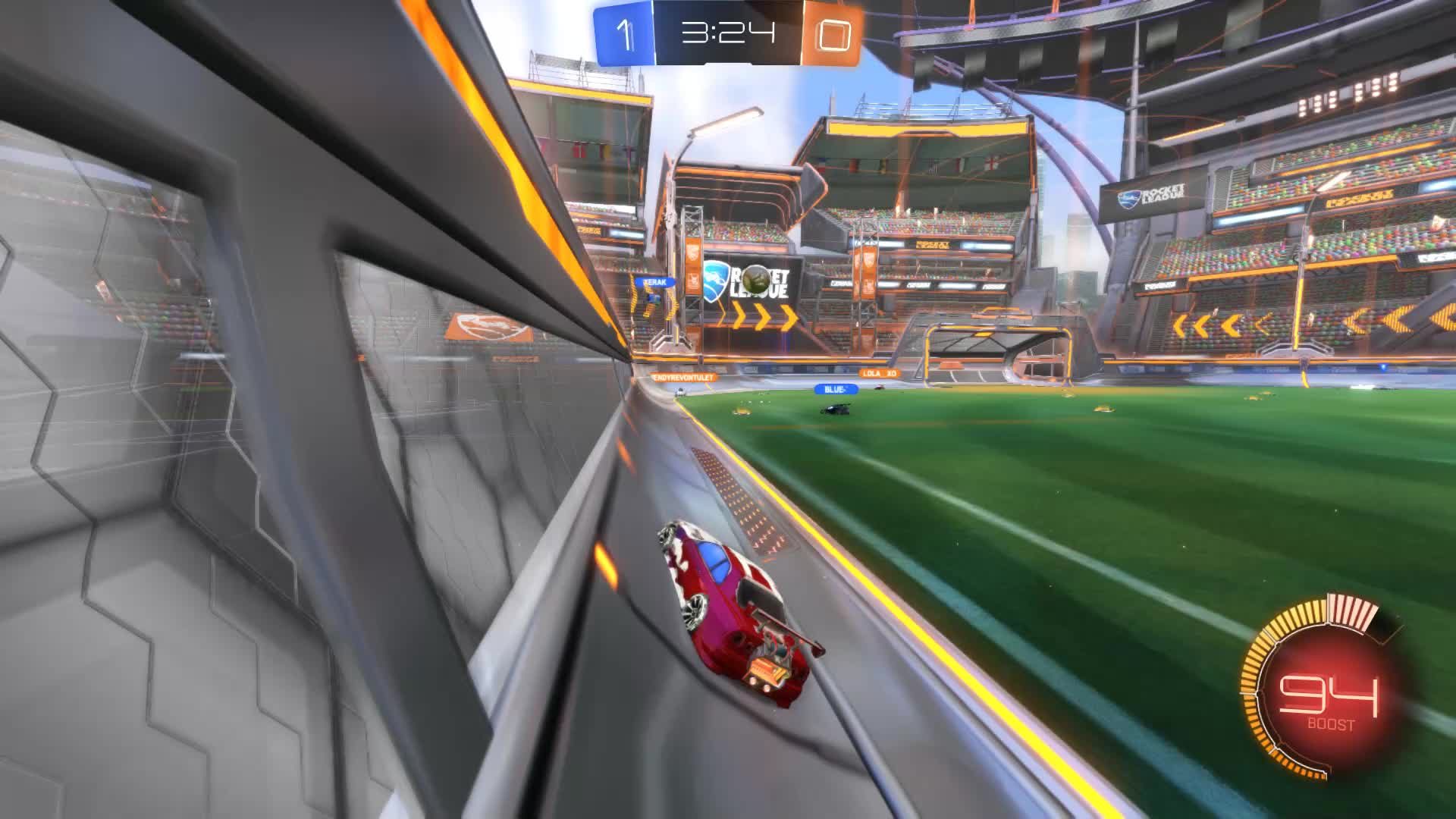 Gif Your Game, GifYourGame, Rocket League, RocketLeague, SCOTLAND FOREVER, Goal 2: SCOTLAND FOREVER GIFs