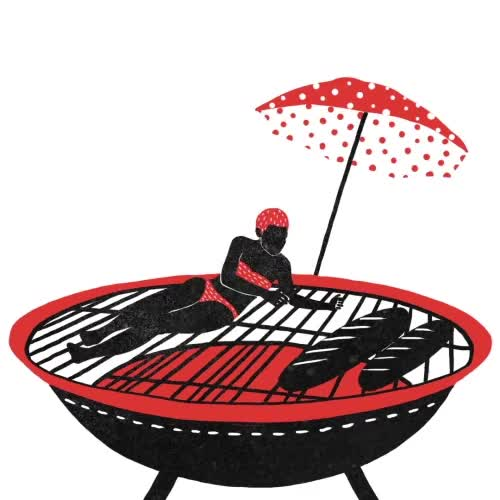 Watch and share GIF Diary 070315 Happy Long Weekend#gif#animation#daily#dailyanimation#the100dayproject#doodle#design#art#BBQ#grill#summer GIFs on Gfycat