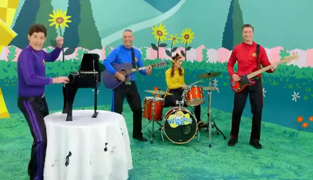Watch and share The Wiggles Nursery Rhymes - There Were Ten In The Bed 2 GIFs on Gfycat