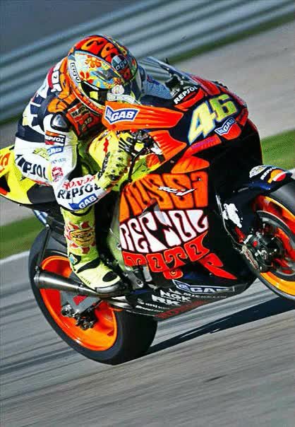 Watch and share Valentino Rossi GIFs and Repsol Honda GIFs on Gfycat