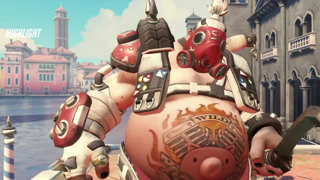 Watch tf GIF by johnycoombre on Gfycat. Discover more highlight, overwatch, roadhog GIFs on Gfycat