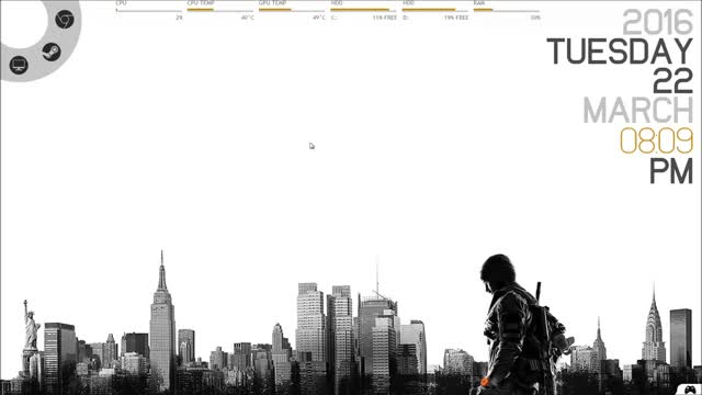 Watch and share The Division GIFs and Rainmeter GIFs by justkeptfading on Gfycat