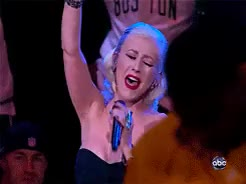 Watch and share Christina Aguilera GIFs and National Anthem GIFs on Gfycat