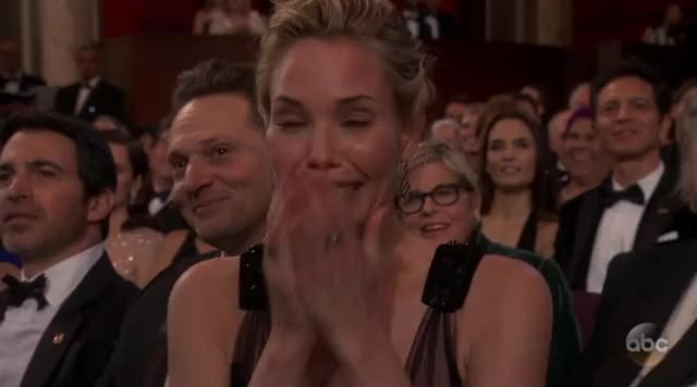 Watch this celebs GIF by Reactions (@visualecho) on Gfycat. Discover more OMG, Oscars, Oscars 2018, Oscars2018, reaction gif GIFs on Gfycat
