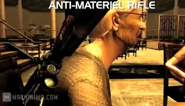 FNV, Youtube, Old Lady Sniper Blues GIFs