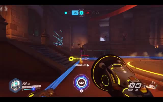 Watch and share Overwatch GIFs and Lucio GIFs by plunge on Gfycat