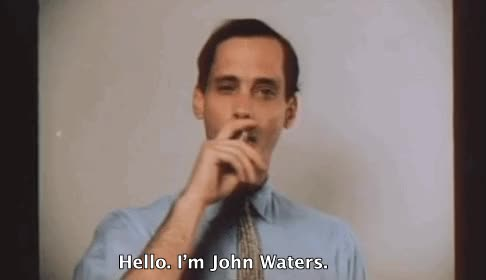 Watch John Waters GIF on Gfycat. Discover more related GIFs on Gfycat