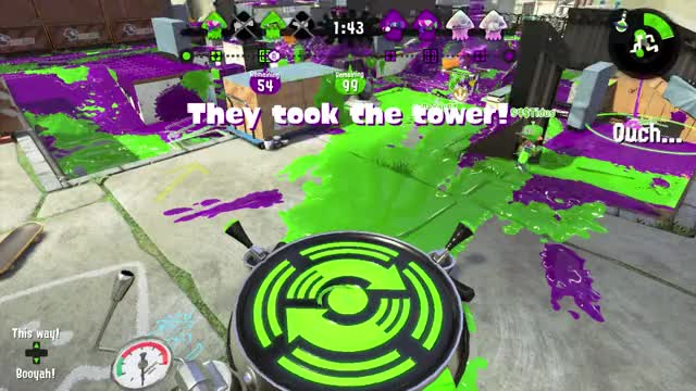 Watch and share Splatoon - Being Spawn Camped GIFs on Gfycat