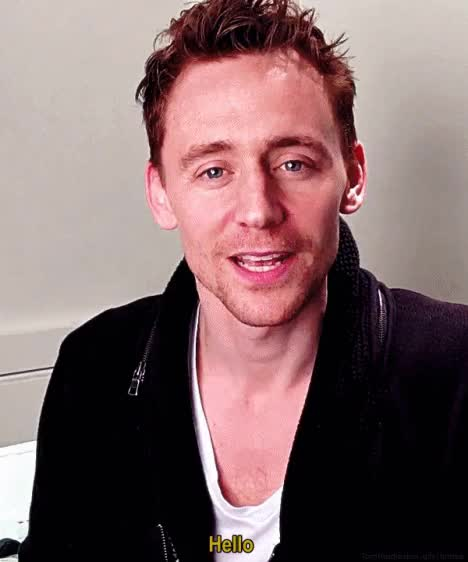 Watch and share Tom Hiddleston GIFs and Just Smile GIFs on Gfycat