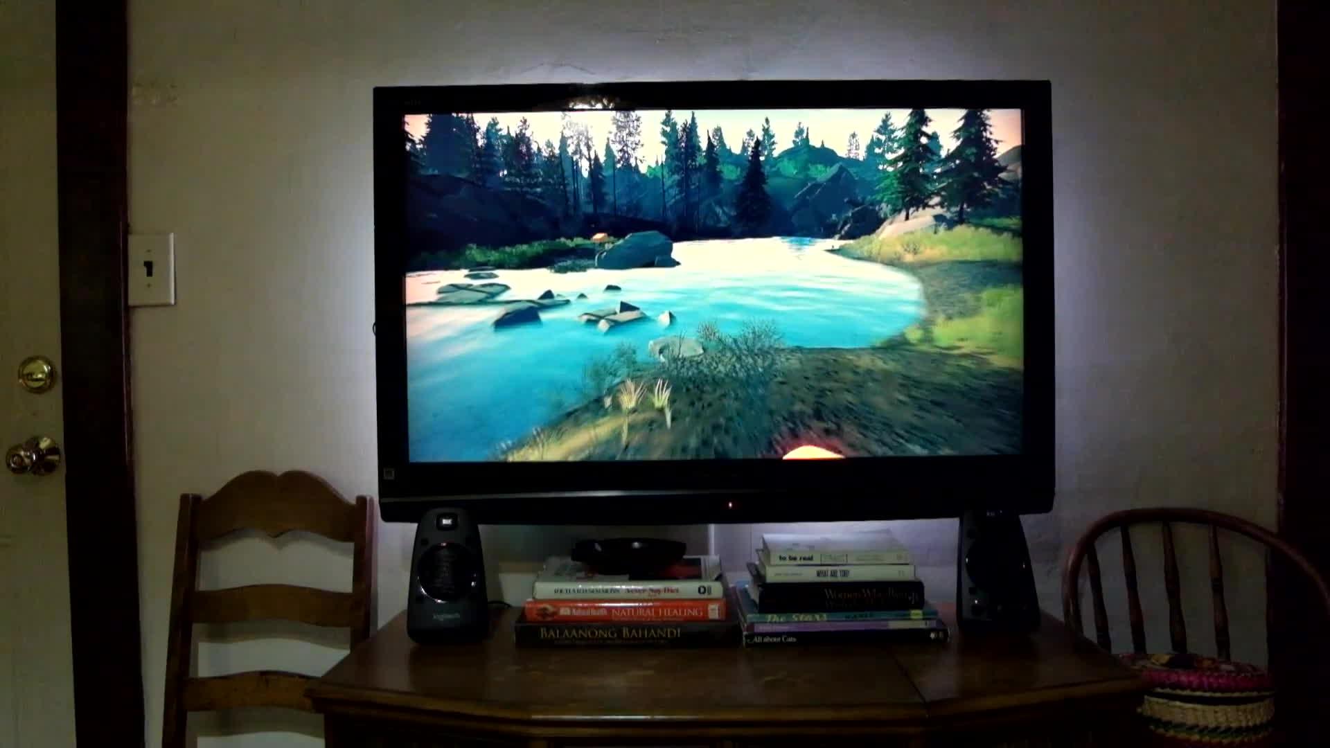 firewatch, gaming, hue, Firewatch with ScreenBloom GIFs
