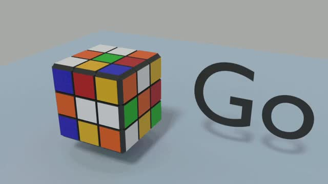 Watch and share Rubik's Solver Visualization Tool Using Blender GIFs by Rioru on Gfycat