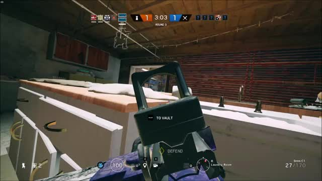 Watch and share R6 Siege - Almost Ace GIFs by pandishi on Gfycat