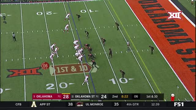 Watch and share 2017 NCAA Football Week 10: Oklahoma At Oklahoma State GIFs by nolesfan4440 on Gfycat