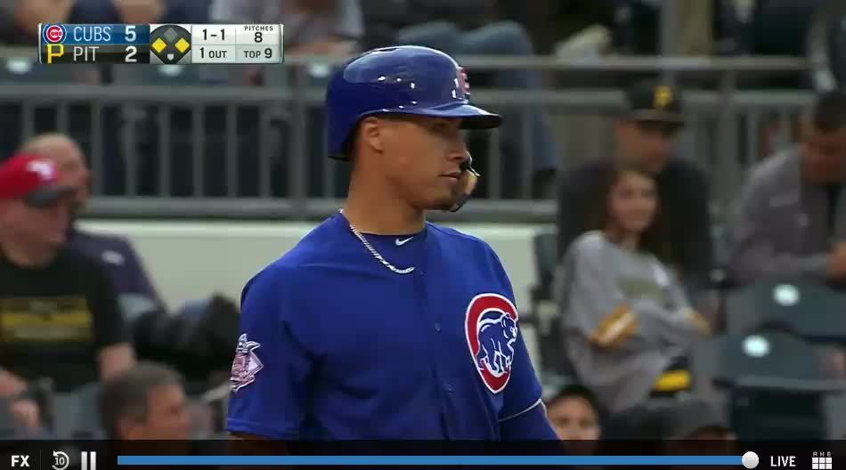 chicubs, Shitty gif of Baez's 2nd RBI (reddit) GIFs