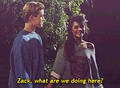 Watch and share 1k Kelly Kapowski Saved By The Bell Zack Morris GIFs on Gfycat