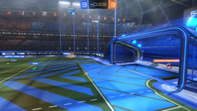 Watch When the Overtime Pressure is Just too Much GIF on Gfycat. Discover more Rocket League, rocket, rocketleague GIFs on Gfycat