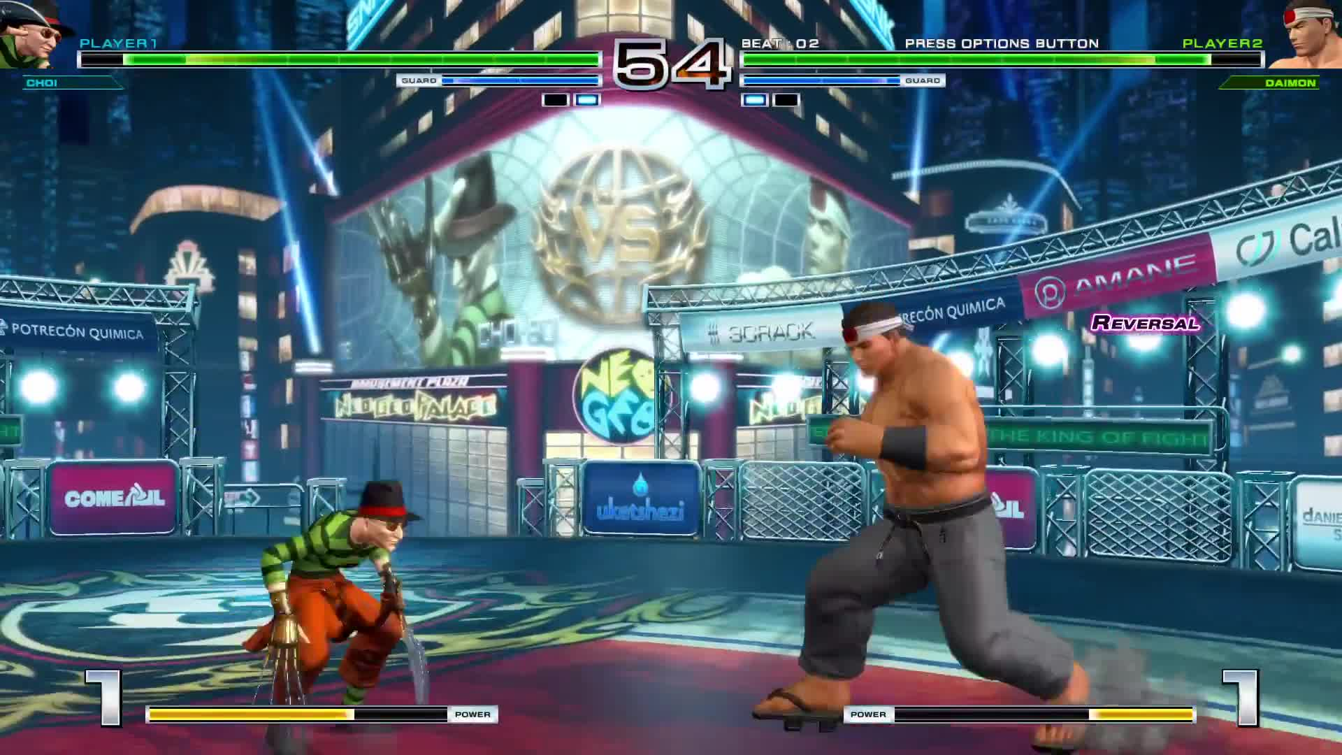 #PS4share, BlueXephos, ChaoticMonki, Jacksepticeye, OfficialNerdCubed, PlayStation 4, SeaNanners, Sony Interactive Entertainment, horror, movie, [KOF XIV] Choi Bounge Story 22 VS GORO DAIMON [PS4 Pro] GIFs