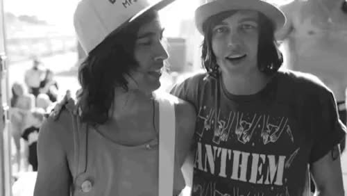 Watch and share Pierce The Veil GIFs and Absorb The Gay GIFs on Gfycat