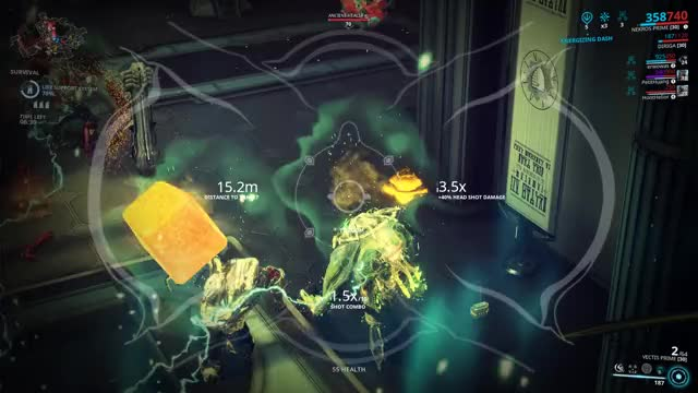 Watch Floating Charger GIF by 16Bitman (@16bitman) on Gfycat. Discover more Charger, Infested, Nekros, Survival, Vectis, Warframe GIFs on Gfycat