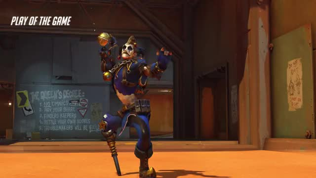 Watch and share Overwatch GIFs and Junkrat GIFs by YOMOMMA on Gfycat