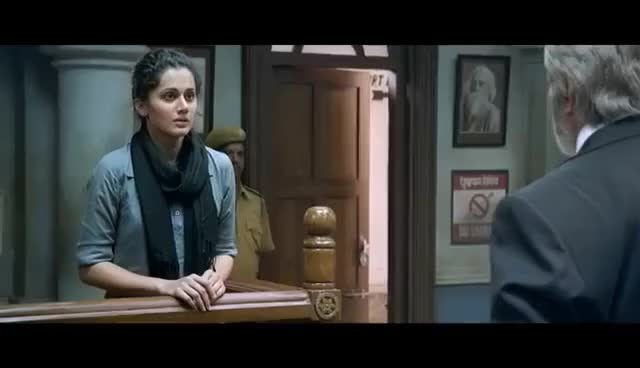 Watch and share PINK | Official Trailer | Amitabh Bachchan | Shoojit Sircar | Taapsee Pannu GIFs on Gfycat
