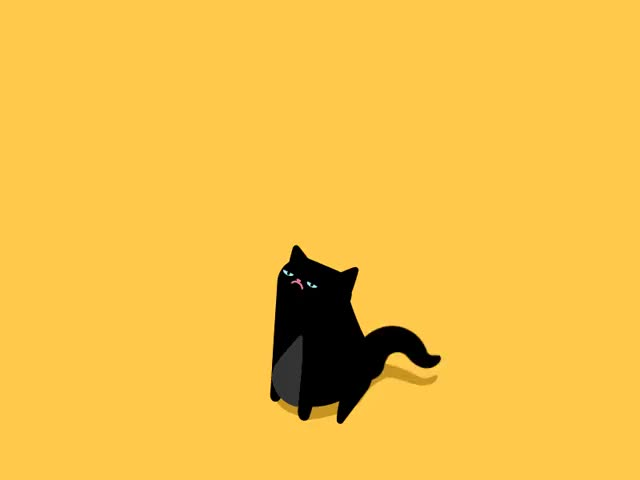 Watch and share Black Cat Attack (reddit) GIFs on Gfycat