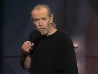 Watch and share George Carlin GIFs and Stupid People GIFs on Gfycat