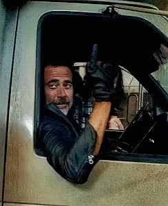 Watch and share Negan Fuckyou GIFs on Gfycat