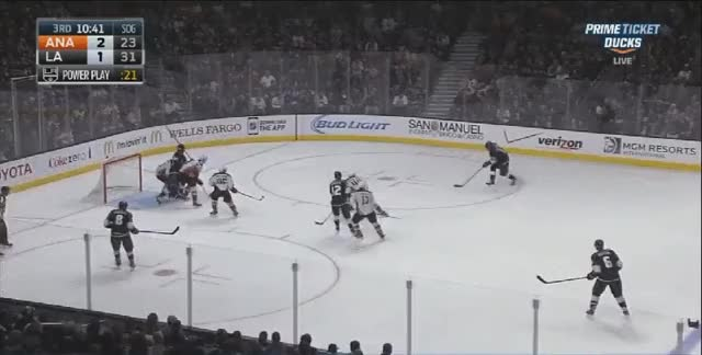 Watch and share Kings With Some Incredible Passing On A Powerplay Goal Vs The Ducks 11.15 (reddit) GIFs on Gfycat