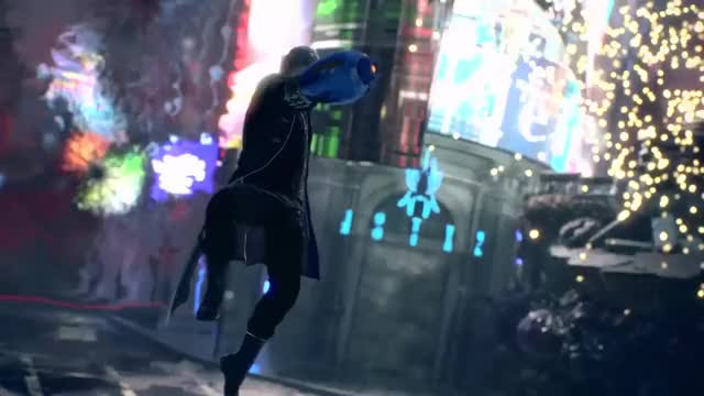 Watch Devil May Cry 5 - Mega Buster GIF on Gfycat. Discover more 4k, 60fps, Action, Adventure, Dante, Game, PS4, Trish, XB1, capcom, clapping, combat, dmc, dmc5, lady, nico, rock, style, stylish, vergil GIFs on Gfycat