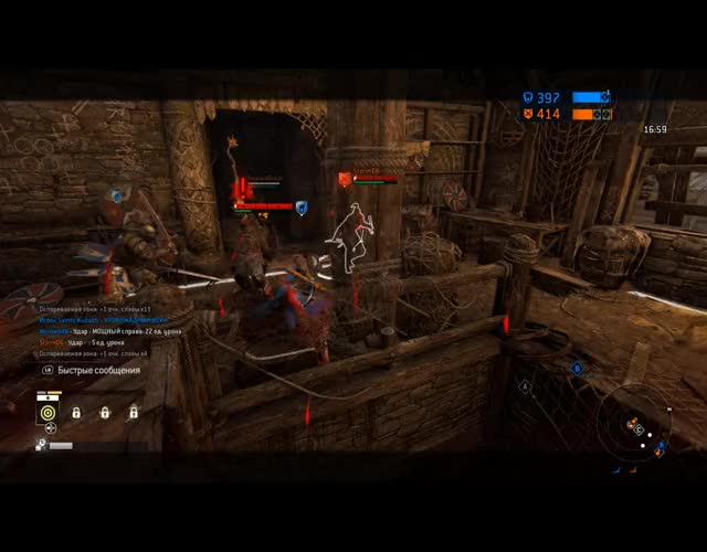 Watch and share Forhonor GIFs by blargh686 on Gfycat