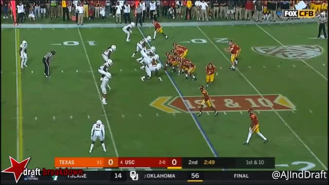 Watch and share Sam Darnold Improv TD GIFs by markbullock on Gfycat