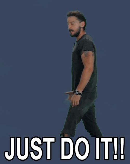 Just do it GIFs
