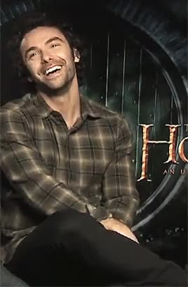 Watch Johanna GIF on Gfycat. Discover more Aidan, aidan turner, dwarf, hobbit, hot, perfect, thehobbit, turner GIFs on Gfycat