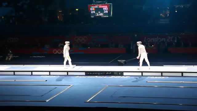 Watch Olympic 2012 Fencing Lunge GIF on Gfycat. Discover more london, olympics, romania GIFs on Gfycat