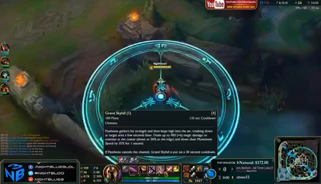 I REPORTED MY TOXIC FRIEND AFTER THIS   FULL AD PANTHEON JUNGLE IS BROKEN   I GOT ROASTED Nightblue3