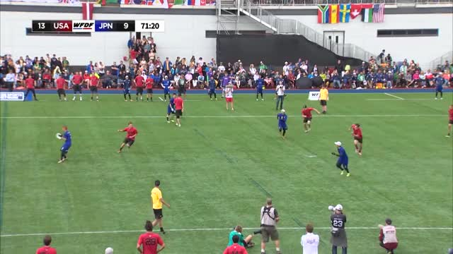 Watch and share WUGC 2016 - USA Vs Japan Men's Gold Medal Game GIFs on Gfycat